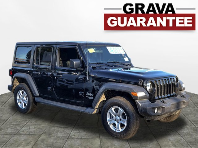 Pre-Owned 2018 Jeep Wrangler Unlimited Sport S